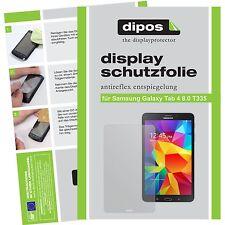 2x dipos Samsung Galaxy Tab 4 8.0 m.T. T335 matte Displayschutzfolie Antireflex