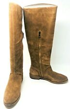 NIB Ugg W Daley Chestnut Light Brown Suede Tall Riding Boots Women's Size 7 M