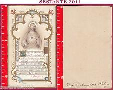 1501 SANTINO HOLY CARD SACRO CUORE SACRE COEUR BLANCHARD A ORLéANS 2112