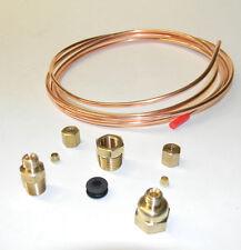 """Oil Pressure Gauge Copper Tubing Kit 1/8"""" x 6' for Massey Ferguson Harris NEW"""
