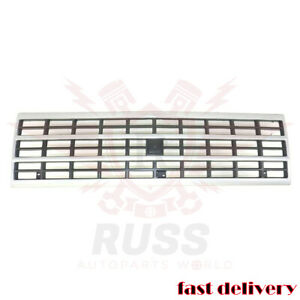 New Grille Silver Front Fits 92-96 Chevrolet G10 G20 G30 P30 GM1200360 15709687