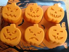 M&S Baking Halloween Silicone Pumkin Shaped Cake Moulds NEW