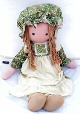 Vintage Knickerbocker Large Holly Hobbie Friend Heather Cloth Rag Doll