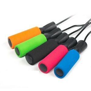 Adjustable Skipping Rope Anti Slip Handles Jumping Ropes for Workout Speed Skip
