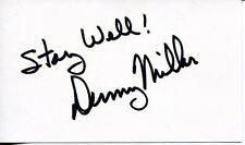 Scott Denny Miller Autograph Actor In Wagon Train Gilligans Island Signed Card