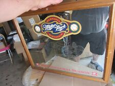 Miller Park High Life Beer Sign Mirror Milwaukee Brewers County Stadium Etched