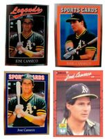 (4) Jose Canseco Odd-Ball Trading Card Lot