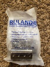 Ruland MSPX-14-14-SS Two-Piece Clamping Rigid Coupling, Stainless Steel, Metric,