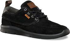 VANS Brigata Lite + (Suede) Black Chambray UltraCush Skate Shoes MEN'S 13