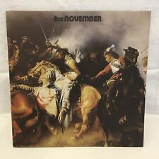 NOVEMBER - 6:e - LP Sweden SONET Original Vinyl Records