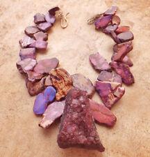 Collane e pendagli di bigiotteria rose di pietra in pietra principale ametista