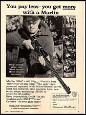 1962 Marlin 336-C Deer Rifle  Vintage Print Ad