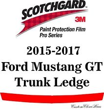3M Scotchgard Paint Protection Film Pro Series 2015 2016 2017 Ford Mustang GT