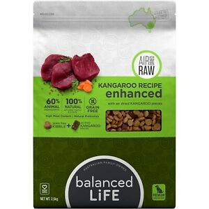 Balanced Life Enhanced Grain Free Kibble & Air-Dried Raw Dog Food - Kangaroo - 2