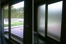 "60"" X 100 FT ROLL WHITE FROST FILM PRIVACY FOR OFFICE,BATH,GLASS DOORS,ANY GLASS"