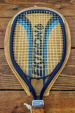 Vintage Ektelon Magnum Flex Racquetball Racquet With Faux Leather Zip Cover