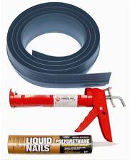 Tsunami Seal 10 Ft. Gray Seal Garage Door Threshold Kit Auto Care Products Inc