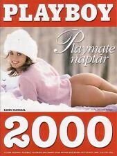 CALENDAR / KALENDER Playboy Hungary / Ungarn 2000