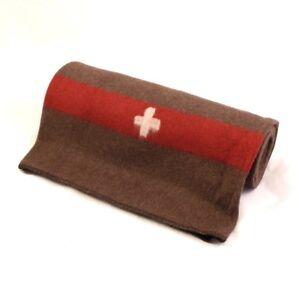 Couverture Armée suisse (100% laine)