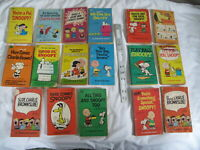 (17) Pre-Owned Peanuts Comic Paperbacks Snoopy Charlie Brown Charles M. Schulz