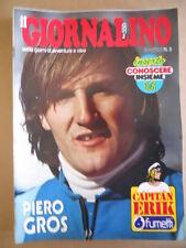 GIORNALINO n°5 1980 Capitan Erik Asterix - Poster Piero Gros [G409A]