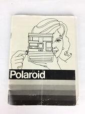 Notice Polaroid Pronto 600 Appareil Photo (manuel, mode d'emploi, guide) ,
