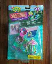 Polly Pocket Fun Fair Happy Flyers - Rocket Ride - Bluebird 1997 NEW in BOX!!