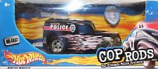 Hot Wheels grande échelle ANGLIA PANEL TRUCK COP RODS police Cruisers 1/24