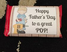Fathers Day Gift Pop Corn Wrapper