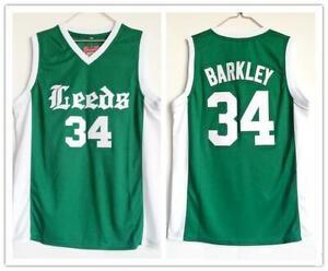 Charles Barkley Basketball Jersey 34 Leeds High School Jerseys All Stitched