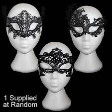 Halloween, nouvel an, noël Noir Masquerade Masque - 1 a Envoyé au hasard