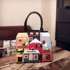 personality handmade lovely gardon house large creative purse  shoulder bag