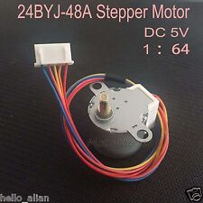 24BYJ48 DC5V Gear Stepper Motor 4 Phase 5 Wire Reduction Schrittmotoren 1:64