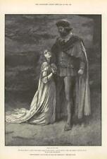 1890-ANTIQUE PRINT Fine Art Merveilleux Aventures Phra phénicien Paget (121)
