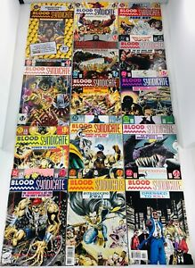 LOT OF 36 BLOOD SYNDICATE #1-35 COMPLETE SET + COLLECTOR'S ED #1 DC MILESTONE
