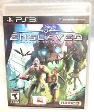 Enslaved: Odyssey to the West (Sony PlayStation 3, 2010) CIB - Tested & Works