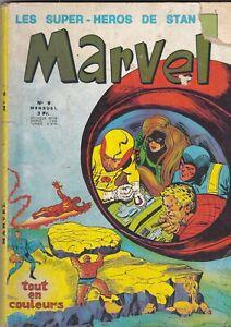 Les Super-Héros de Stan Lee  Marvel n° 9  Lug  1970