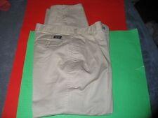 Mens Mark Twain Khaki Casual Career  Pants Size 32 x 30 . Tan.