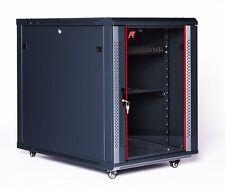 "Sysracks  12U 35"" Depth Server Rack Data Cabinet Over $90 Accessories included"