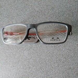 Oakley OX 8153 Glasses Satin Grey Smoke