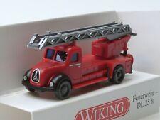 Wiking Magirus DL 25 h, Feuerwehr Drehleiter - 0962 39 - 1:160