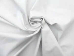 Lambskin sheepskin leather hide XXL White drapey soft smooth finish light weight
