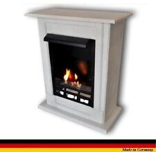 Ethanol Firegel Fireplace Cheminee Caminetti  Madrid Deluxe Royal Granite White