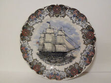 Mib Heritage Mint Churchill England Currier Ives Us Ship of The Line Ohio Plate