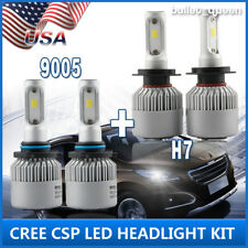 CSP 9005 H7 320W Hi/Lo Beam LED Headlight Kit for Subaru Legacy Outback 2005-14