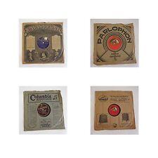 5 disques vinyles 78 T JOSEPHINE BAKER ENRICO CARUSO TITO SCHIPA ROGATCHEWSKI