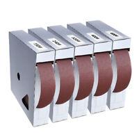 Abrasive Wet Dry Sanding Paper Sandpaper Polishing Grinding Tape Box 150-600Grit