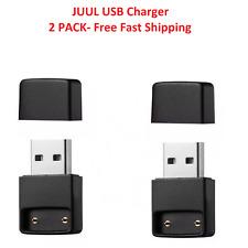 Pack Of 2 Black USB Charger For J-U-U-L Accessory- New Sealed