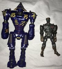 "2011 Real Steel NOISY BOY Jakks Robot Action Figure 7.5"" & ATOM 5"" Fig."