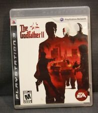 The Godfather II (Sony PlayStation 3, 2009) PS3 Video Game